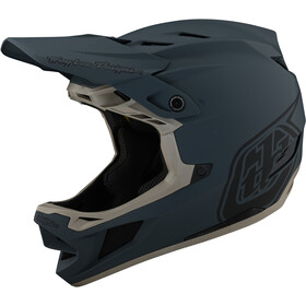 Troy Lee Designs D4 Composite Helm stealth grey
